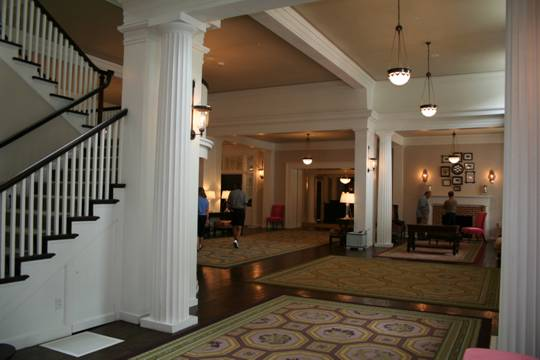 Bedford Springs Interior After