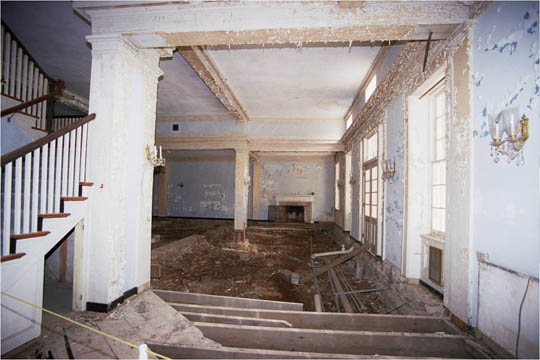 Bedford Springs Interior Before