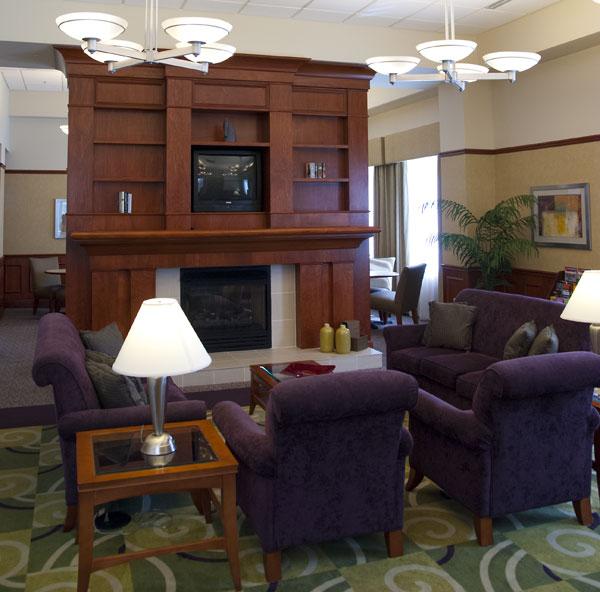 Detroit Hilton Garden Lobby