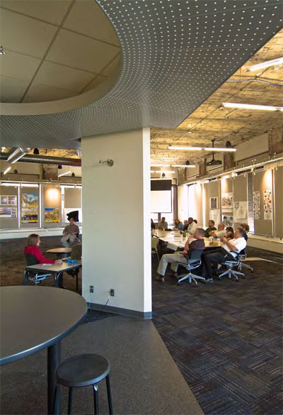 Western Reserve Building Interior